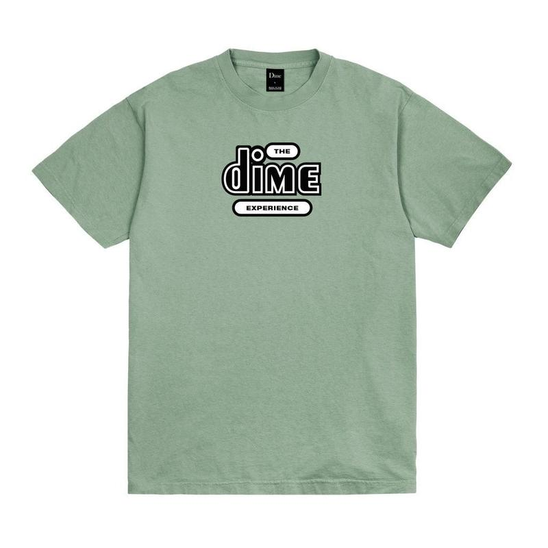 DIME EXPERIENCE T-SHIRT Washed Green