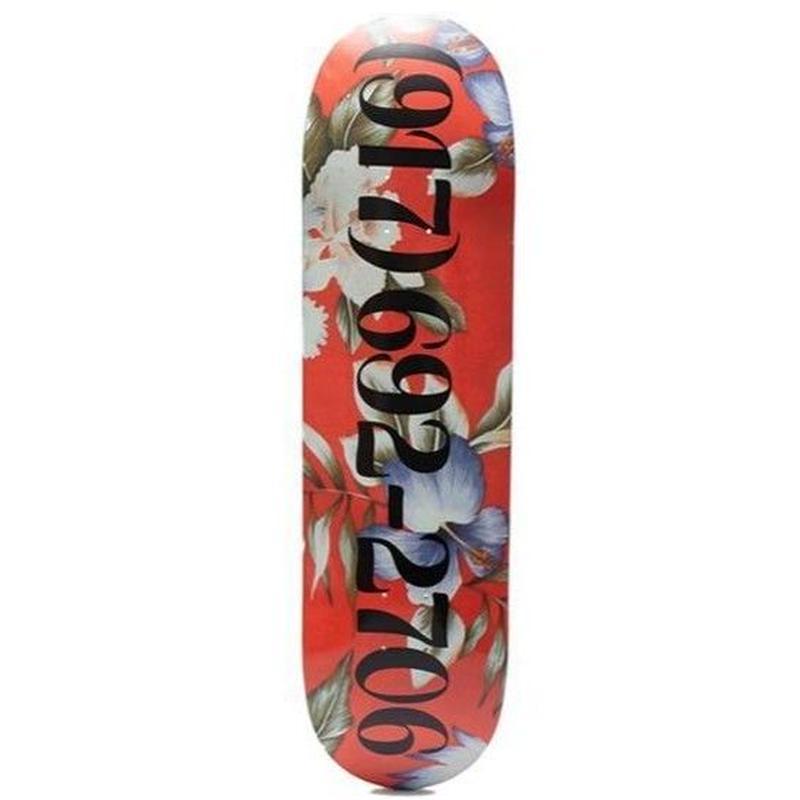 "CALL ME 917 Floral Dialtone Deck 8.25"""