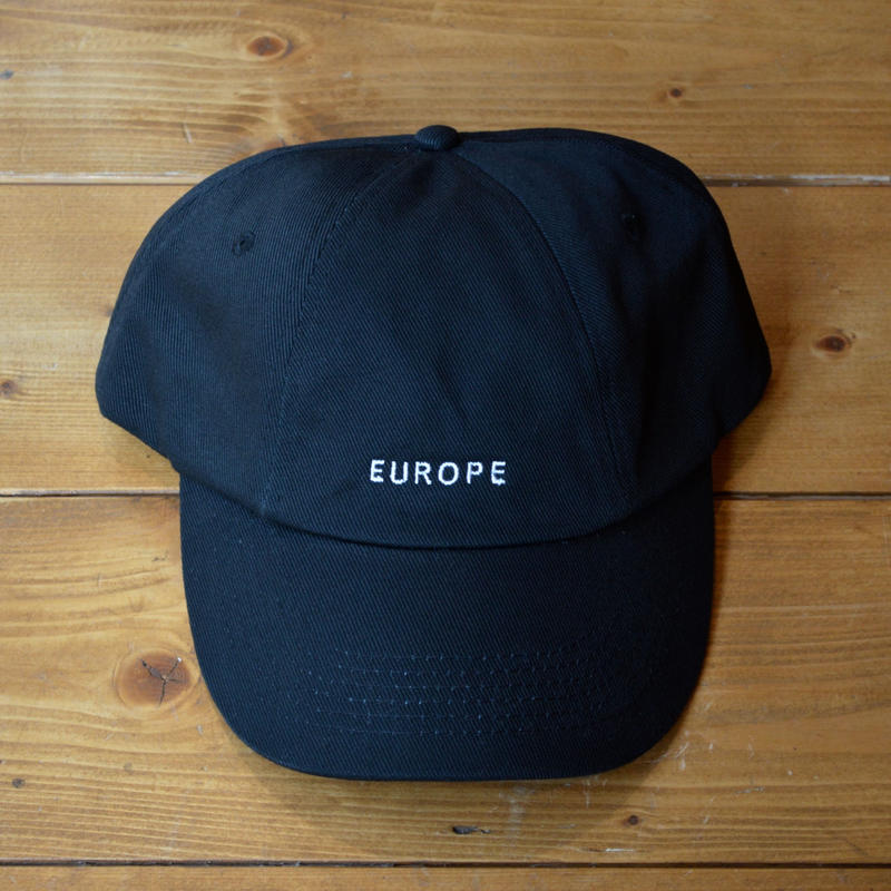 EUROPE CO. Banter cap Black