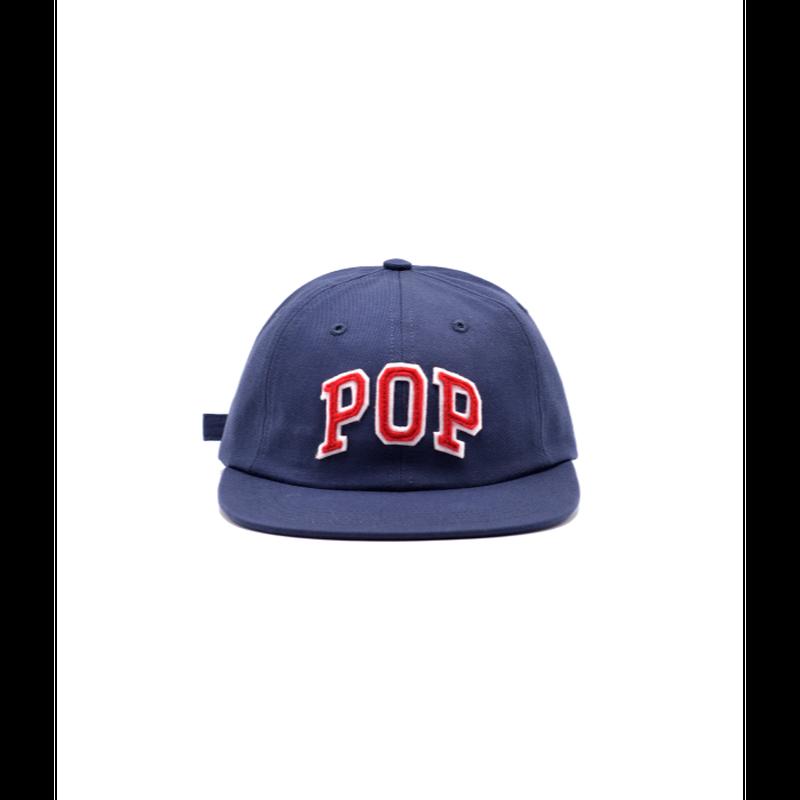 POP TRADING COMPANY ARCH SIXPANEL HAT NAVY