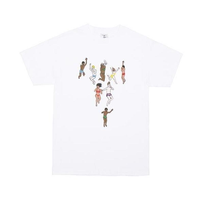 ALLTIMERS JUMP TEE WHITE