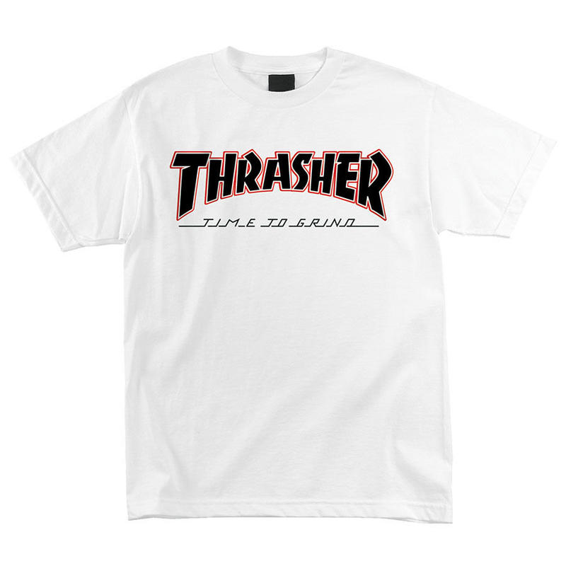 Thrasher TTG Regular S/S Independent Mens T-Shirt White