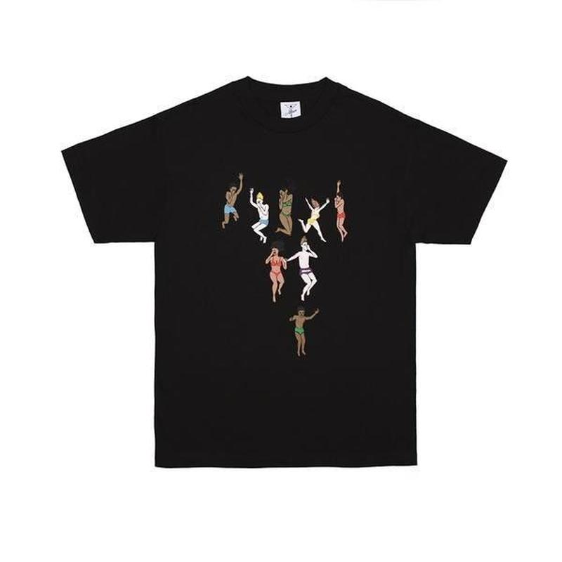 ALLTIMERS JUMP TEE BLACK