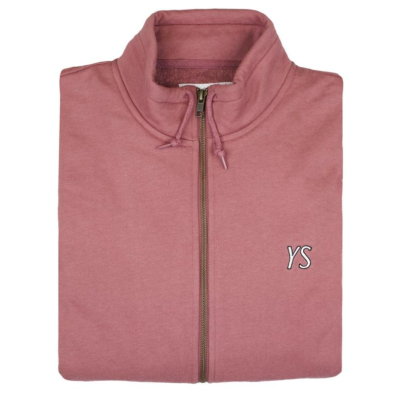 YARDSALE YS Draw String full-zip Rose