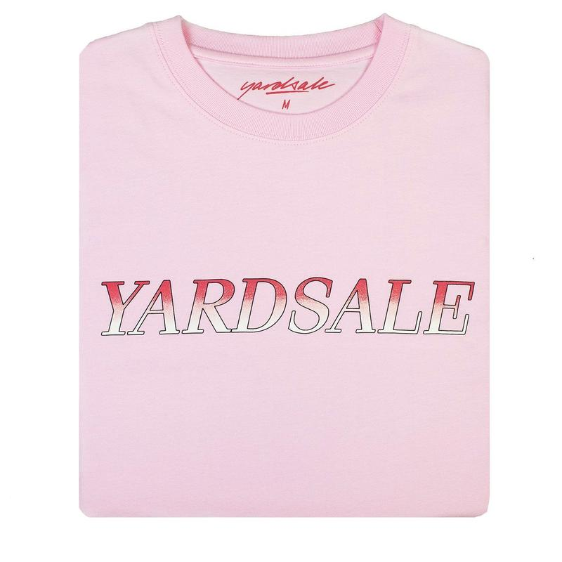 YARDSALE Fade T-shirt Pink