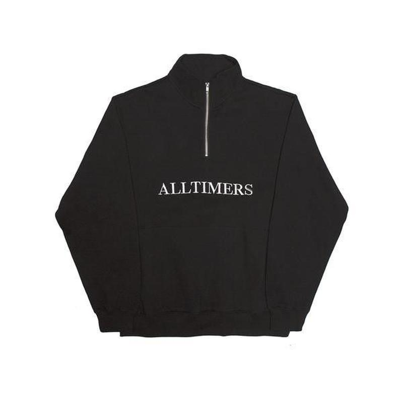 ALLTIMERS NEXTEL ZIP CREW BLACK