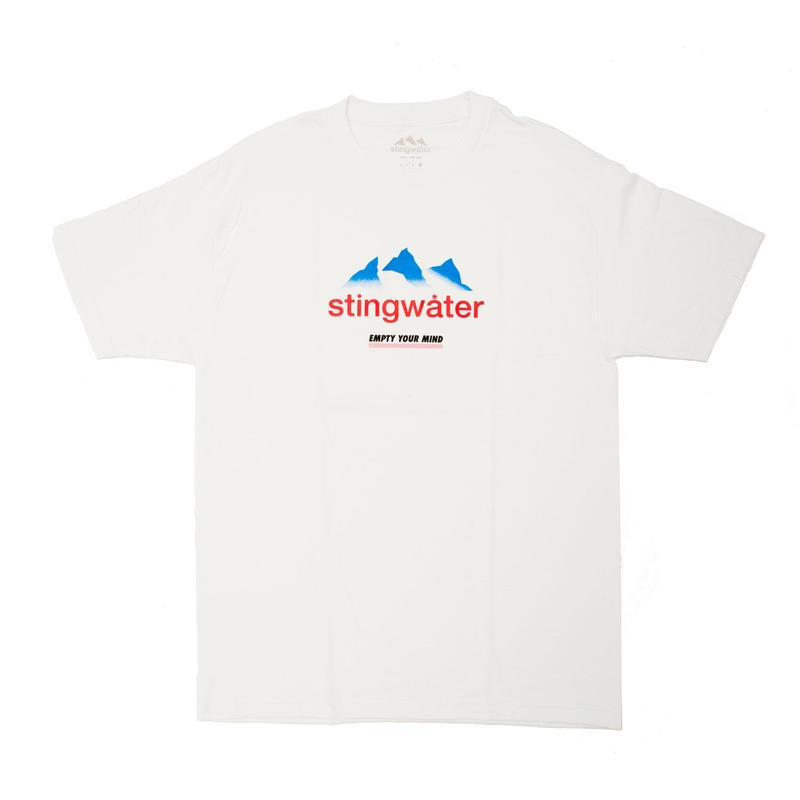 STING WATER FRENCH ALPS WHITE TEE