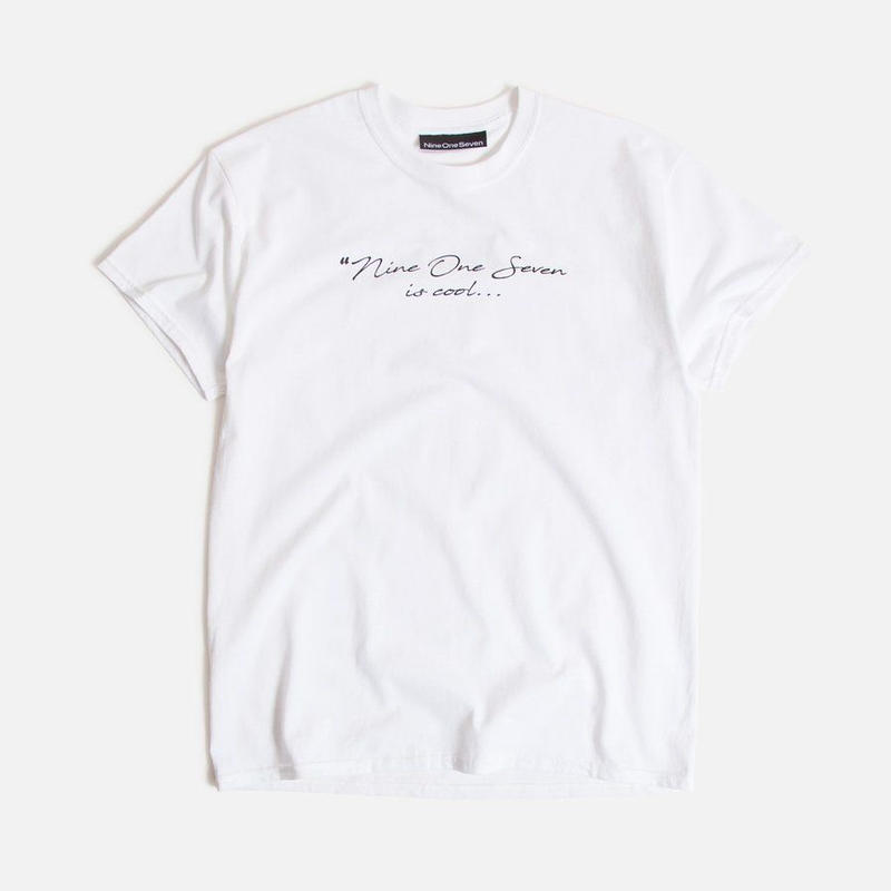CALL ME 917  Relax T-Shirt white