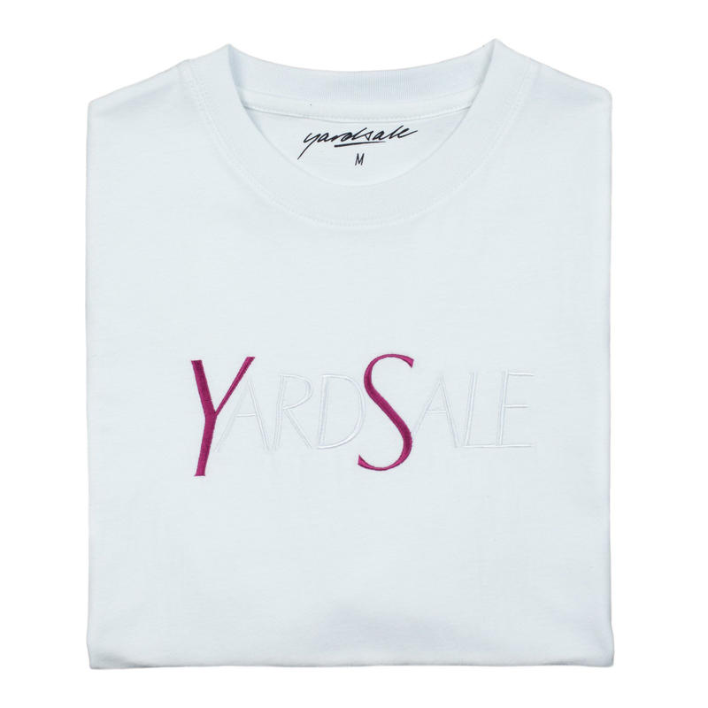 YARDSALE YS T-shirt white