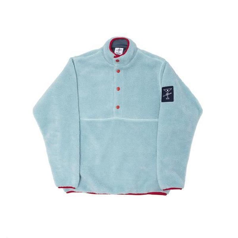 ALLTIMERS COUSINS FLEECE PULLOVER LIGHT BLUE