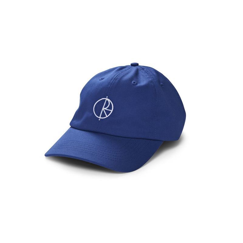 POLAR SKATE CO. STROKE LOGO CAP R.BLUE