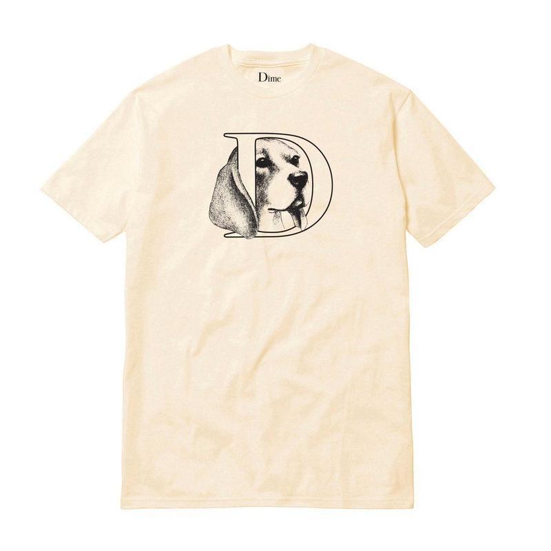 DIME DOG T-SHIRT Cream