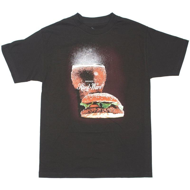 BRONZE56K BURGER TEE BLACK