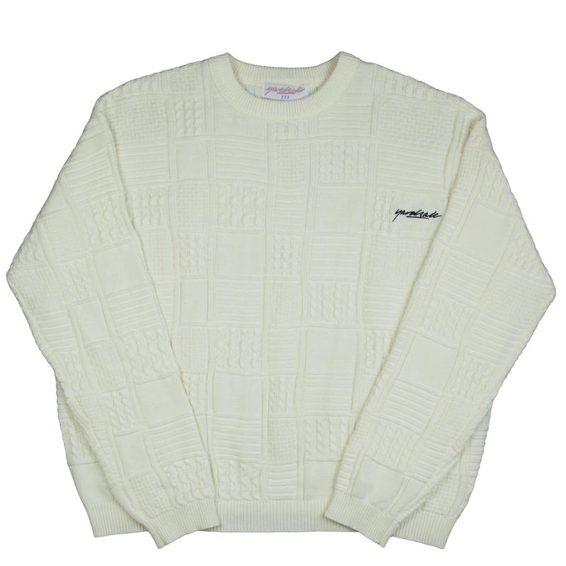 YARDSALE Knitwear Cream