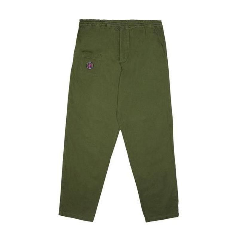 ALLTIMERS YACHT RENTAL PANTS FOREST GREEN