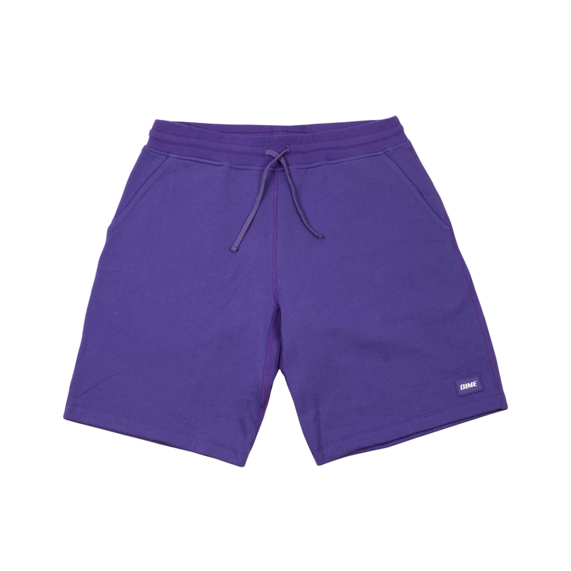 DIME FRENCH TERRY SHORTS  Purple