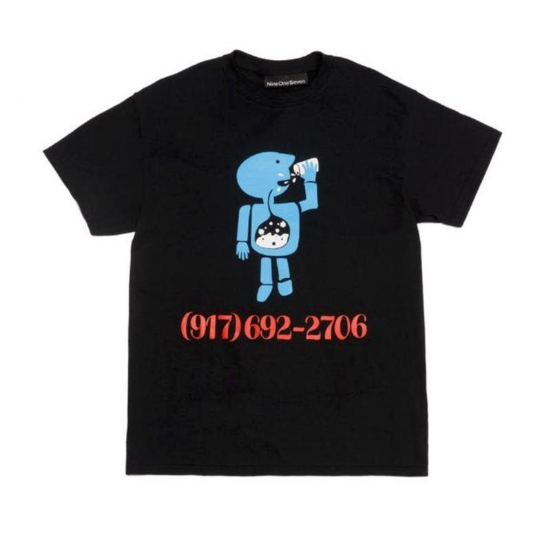 CALL ME 917 Aidan Mackey Pro Tee Black