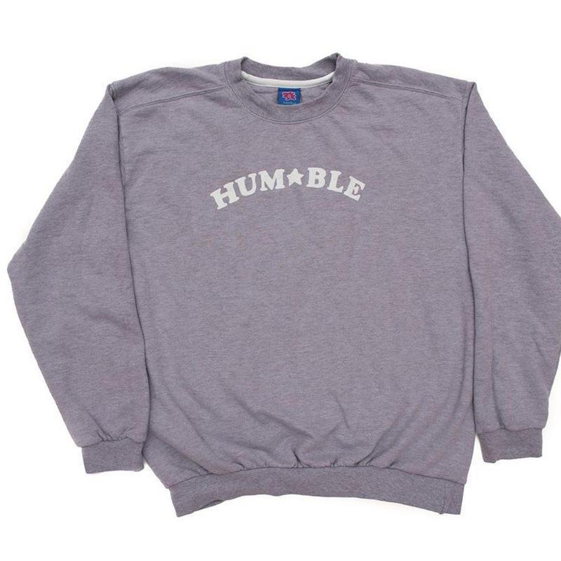 HUMBLE HUM★BLE Crewneck lavender