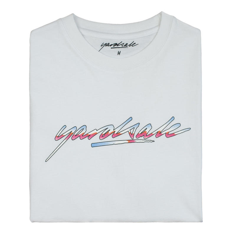 YARDSALE Genesis T-shirt white
