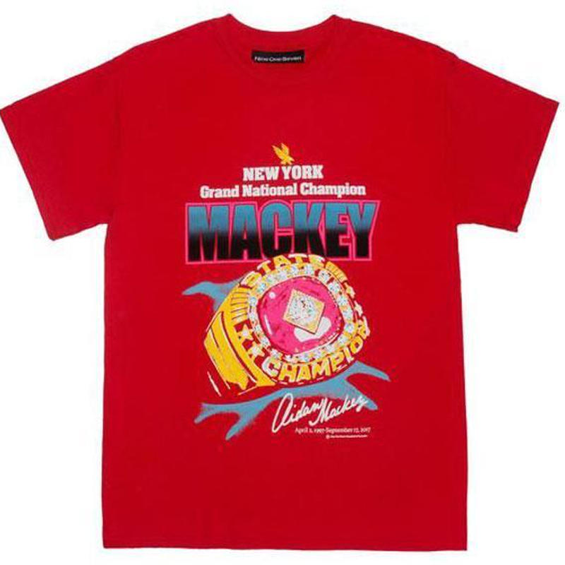 CALL ME 917 Mackey Tee Red