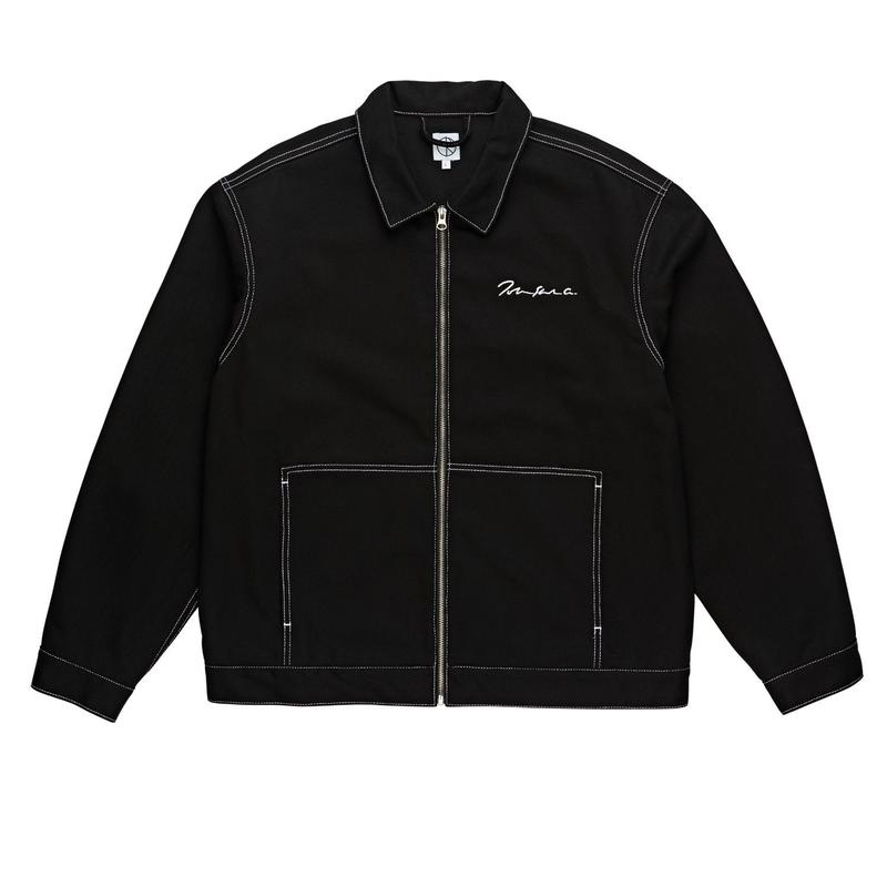 POLAR SKATE CO. 94DENIM JKT BLACK