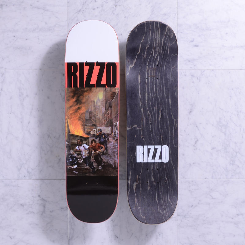 "QUASI Run [8.25""] Red ■ Dick Rizzo Pro Model"