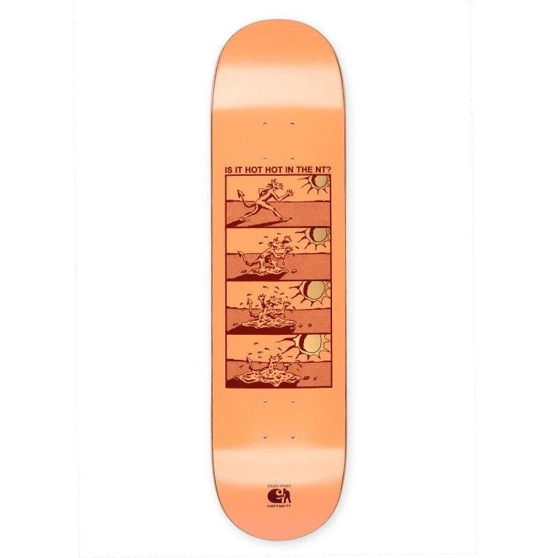 CARHARTT WIP X PASS PORT HOT HOT BOARD - Pastel Coral
