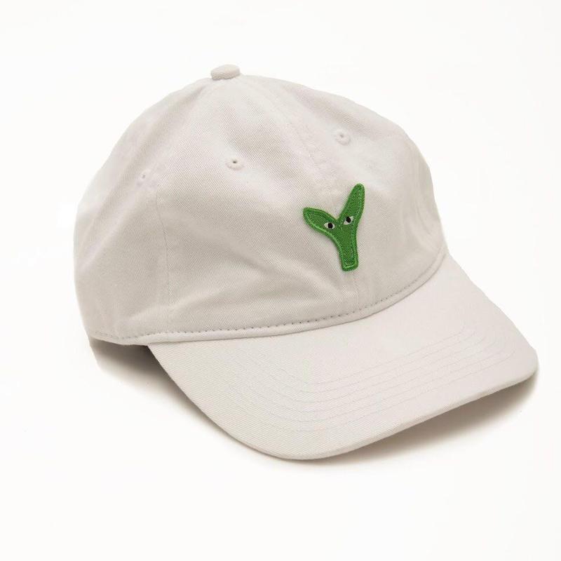 STINGWATER Plant Logo Hat Marshmallow Root (White)
