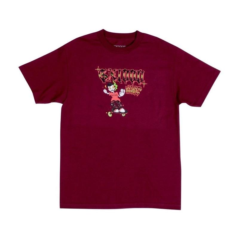 GX1000 Listen To My Creep Tee [Burgundy]