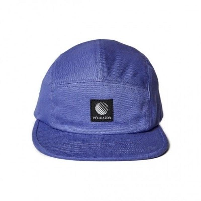 Hellrazor Logo Patch Twill Camp Cap - Purple