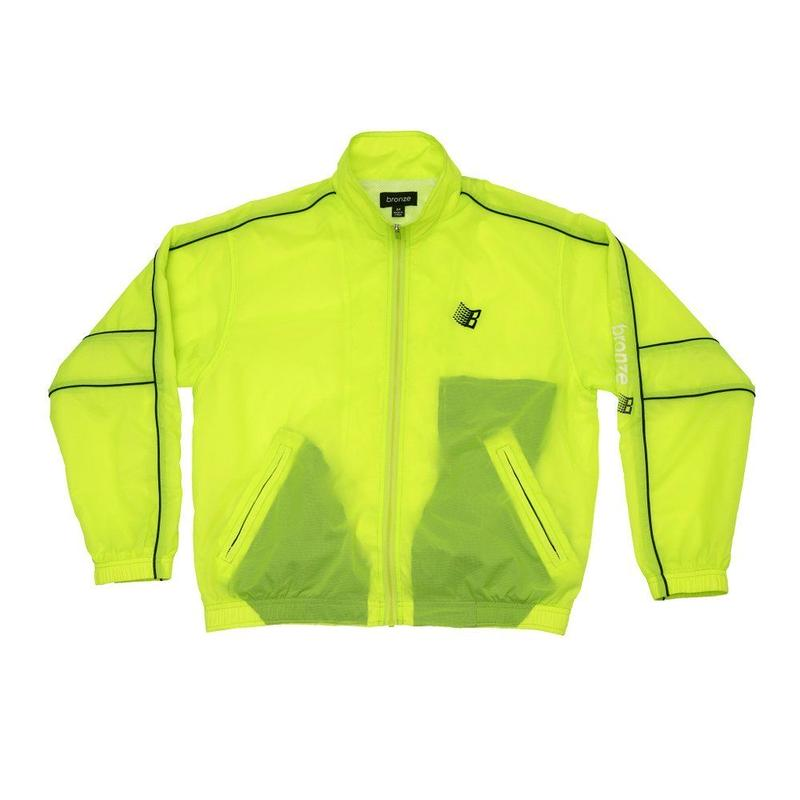 BRONZE56K SPORTS JACKET NEON GREEN
