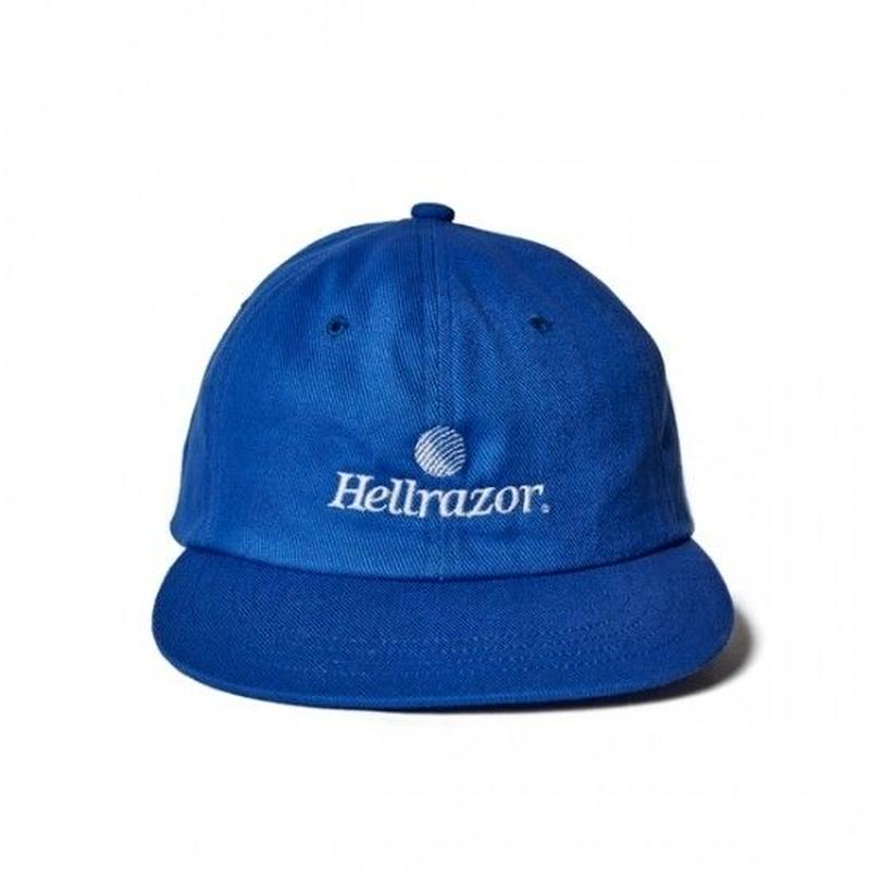 Hellrazor Trademark Logo 6panel - Blue