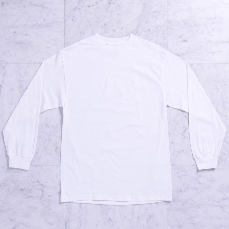 QUASI Wordmark L/S Tee [White]
