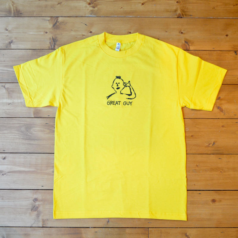 PROV GREAT GUY T-SHIRT YELLOW