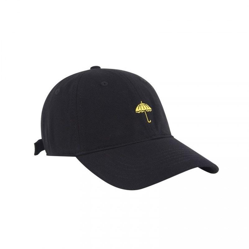 HELAS CLASSIC UMB 6 PANELS CAP BLACK