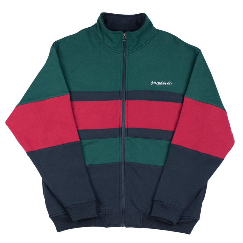 YARDSALE Dior Full Zip Green/Navy/Red