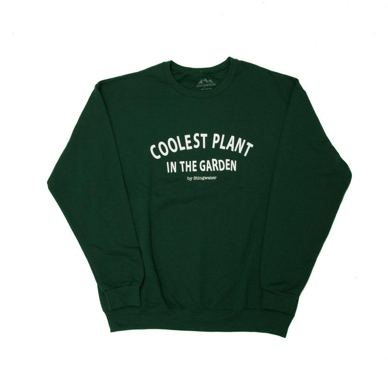STING WATER COOLEST PLANT FOREST GREEN JUMPER