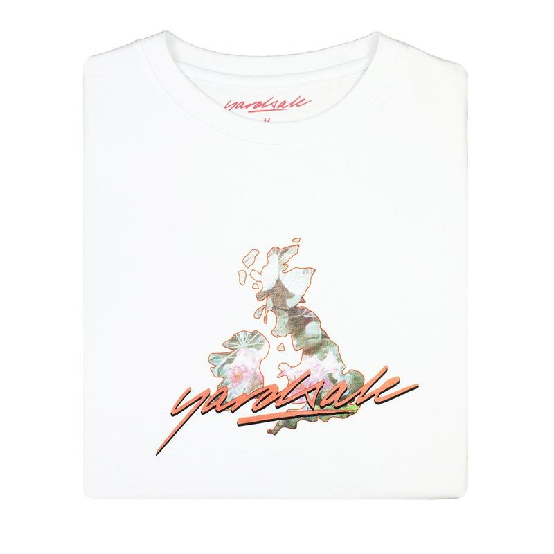YARDSALE Island garden T-shirt white