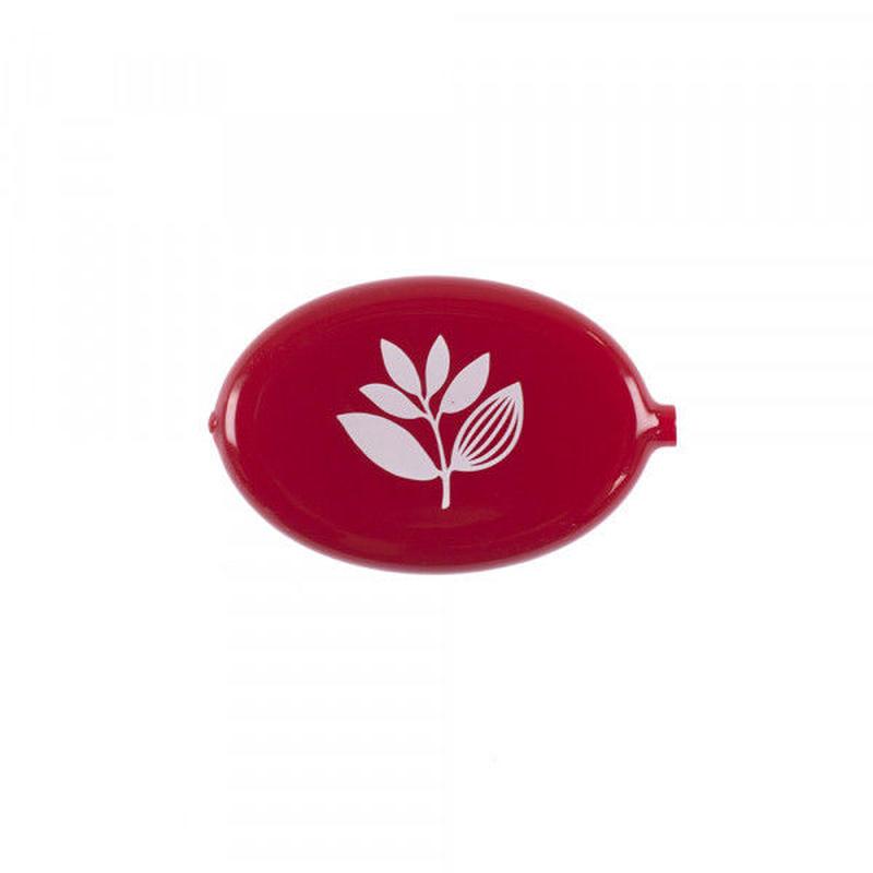 MAGENTA EGG COIN HOLDER - RED