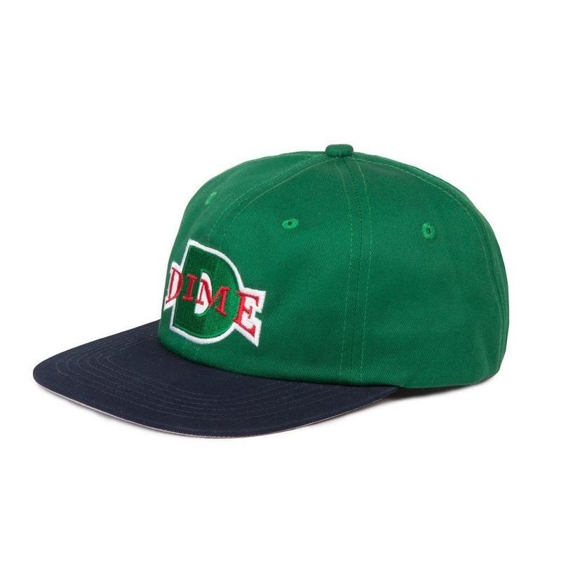 DIME BALL HAT Green & Navy