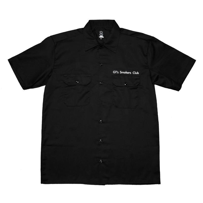 GOOD THINKING Smoker's Club Work Shirt Black