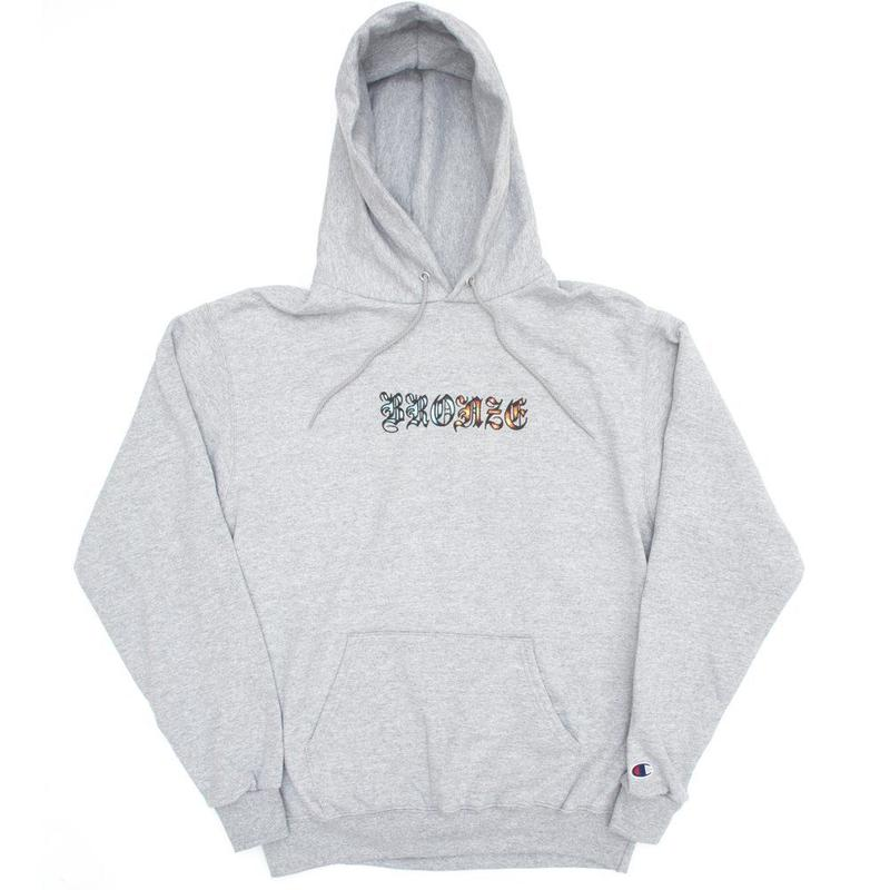 BRONZE56K ICY HOT HOODY HEATHER GREY