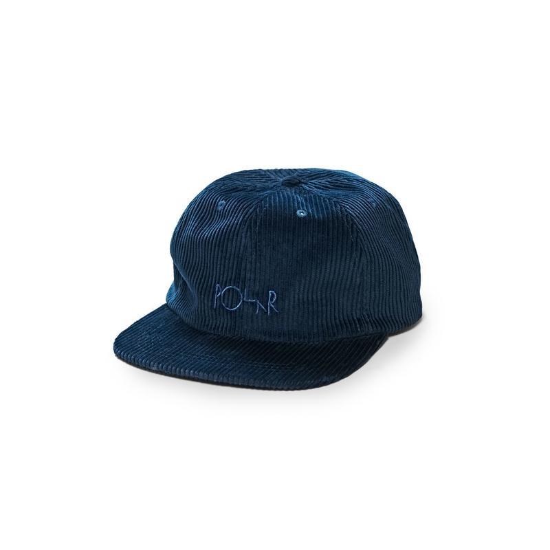 POLAR SKATE CO. CORDUROY CAP P.BLUE