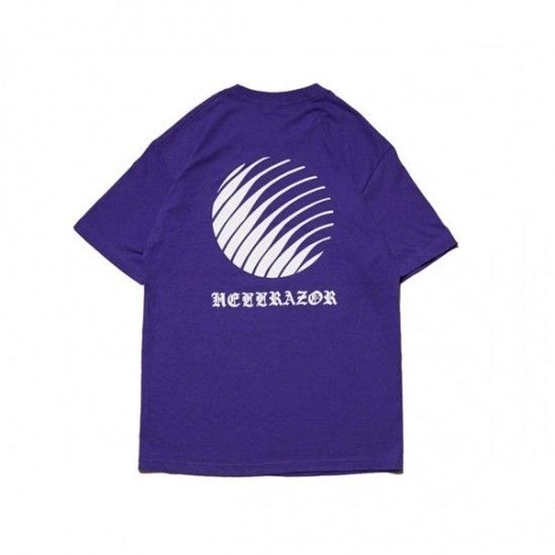 Hellrazor Ol'English Logo Shirt - Purple
