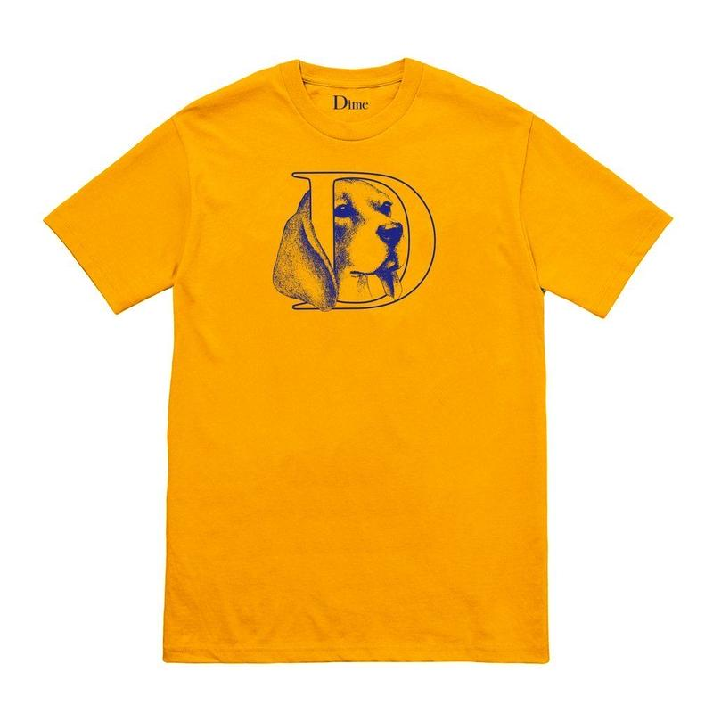 DIME DOG T-SHIRT Gold
