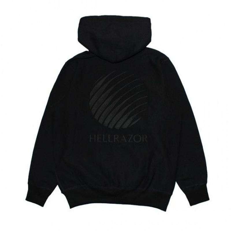 Hellrazor EMB Logo Pullover Hoodie - Black