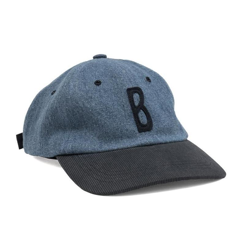 BRONZE TRIPPY B HAT DENIM