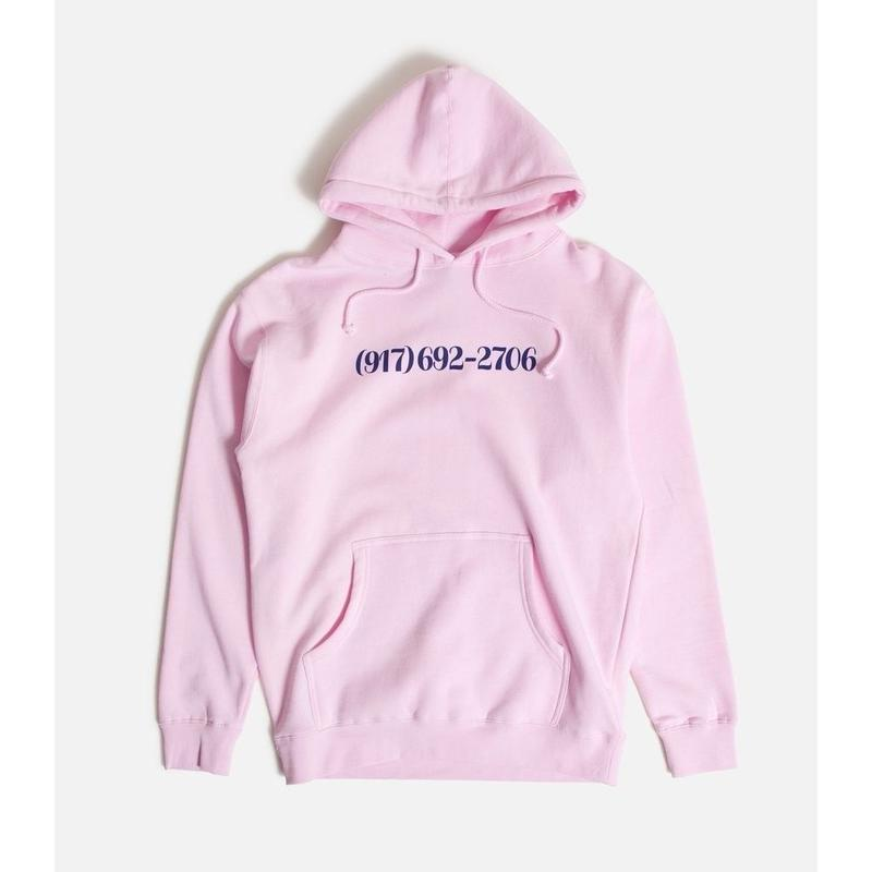 CALL ME 917 Dialtone Pullover Pink
