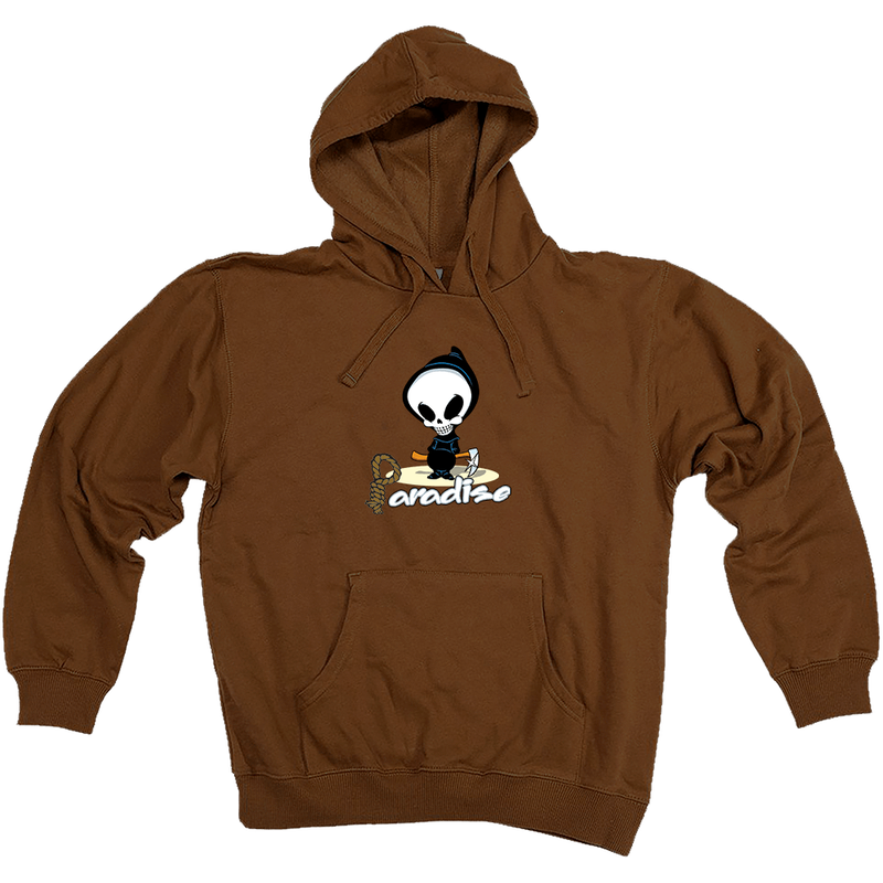 PARADISE.NYC REAPER Hoody Brown
