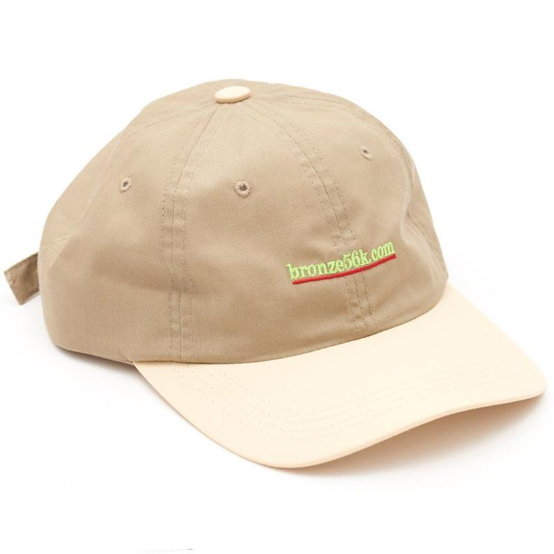BRONZE56K 2 TONE SPORTS HAT TAN/SAND